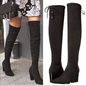 Kendall+Kylie Over the knee boots